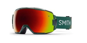 Gogle Smith VICE GREEN RED SOL - X MIRROR