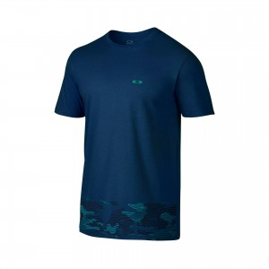 Oakley New Camo On The Block t-shirt koszulka męska