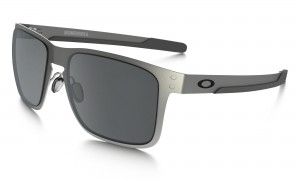 Okulary Oakley Holbrook Metal Satin Chrome Black Iridium OO4123-0355