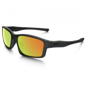 Okulary Oakley Chainlink Matte Black/Fire Iridium OO9247-03