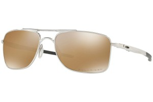 Okulary Oakley Gauge 8 M & L Polished Chrome Tungsten Iridium Polarized OO4124-05