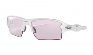 Okulary Oakley Flak 2.0 XL Polished White Prizm Low Light OO9188-88