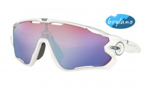 Okulary Oakley Jawbreaker Polished White Prizm Snow OO9290-21