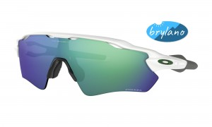 Okulary Oakley Radar EV Path Polished White Prizm Jade Iridium OO9208-71