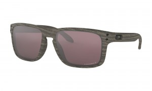 Okulary Oakley Holbrook Woodgrain Prizm Daily Polarized OO9102-B7