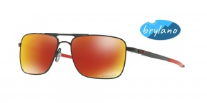 Okulary Oakley Gauge 6 Polished Black Prizm Ruby Polarized OO6038-04