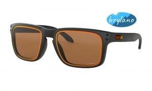 Okulary Oakley Holbrook Fire And Ice Collection Matte Black Prizm Bronze OO9102-G8