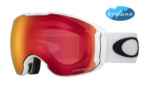 Gogle narciarskie Oakley AIRBRAKE XL Polished White Prizm Snow Torch & Prizm Rose OO7071-08
