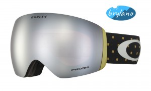 Gogle Oakley Flight Deck Iconography Burnished Prizm Snow Black Iridium OO7050-68