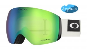 Gogle Oakley Flight Deck Blocked Out Prizm Snow Jade Iridium OO7050-69