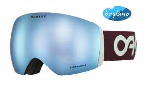 Gogle Oakley Flight Deck Factory Pilot Progression Prizm Snow Sapphire Iridium OO7050-72