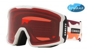 Gogle Oakley Line Miner Neon Orange Camo Prizm Snow Rose OO7070-42