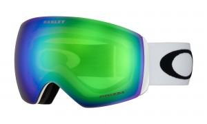 Gogle Oakley Flight Deck Matte White Prizm Snow Jade Iridium OO7050-36