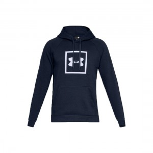 Bluza męska Under Armour Rival Fleece Logo Hoodie 1329745-408