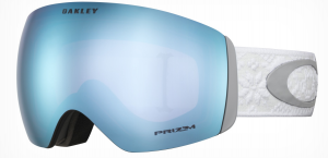 Gogle Oakley Flight Deck Torstein SHREDBOTS Whiteout Prizm Snow Sapphire Iridium OO7050-74