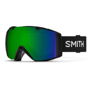 Gogle Smith I/O Black Chromapop Sun Green Mirror & Chromapop Storm Rose Flash