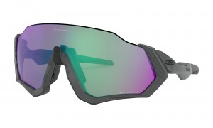 Okulary Oakley Flight Jacket Matte Steel Prizm Road Jade OO9401-15