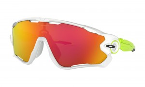 Okulary Oakley Jawbreaker Polished White Prizm Ruby OO9290-58