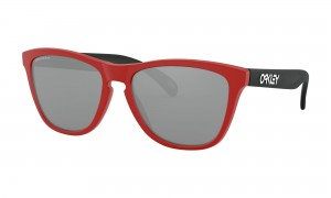 Okulary Oakley Frogskins Origins Collection Matte Redline/Matte Black Ink Prizm Black OO9013-I2