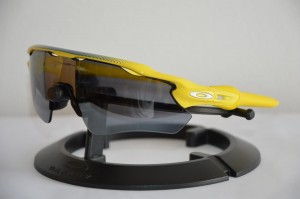 Okulary Oakley Radar EV Path Team Yellow Tour de France Collection Black Iridium OO9208-43