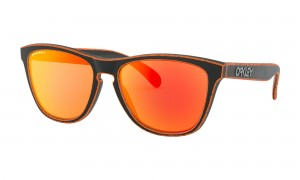 Okulary Oakley Frogskins Raceworn Orange Prizm Ruby OO9013-G1