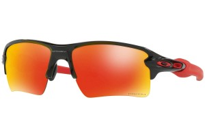 Okulary Oakley Flak 2.0 XL Polished Black Prizm Ruby OO9188-80