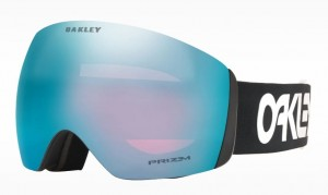 Gogle Oakley Flight Deck Factory Pilot Black Prizm Sapphire Iridium OO7050-83