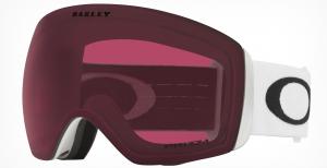 Gogle Oakley Flight Deck Matte White Prizm Dark Grey OO7050-92