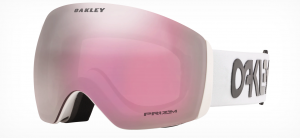 Gogle Oakley Flight Deck Factory Pilot White Prizm HI Pink Iridium OO7050-84