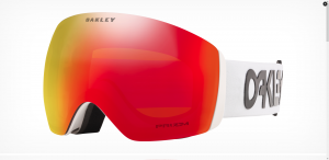 Gogle Oakley Flight Deck Factory Pilot White Prizm Torch OO7050-87