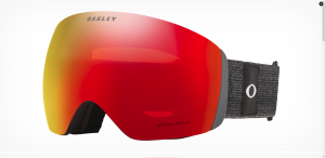 Gogle Oakley Flight Deck Heathered Black Grey Prizm Torch OO7050-78