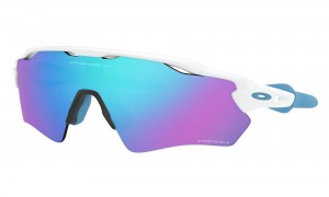 Okulary Oakley Radar EV XS Path Polished White Prizm Sapphire Iridium OJ9001-15