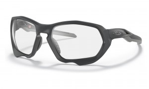 Okulary Oakley Plazma Matte Carbon Clear To Black Photochromic OO9019-05