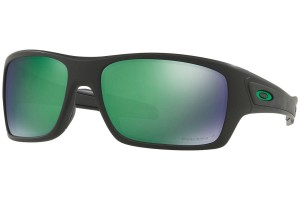 Okulary Oakley TURBINE Matte Black Prizm Jade Polarized OO9263-45
