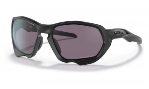 Okulary Oakley Plazma Matte Black Prizm Grey OO9019-01