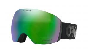Gogle Oakley Flight Deck Factory Pilot Blackout Prizm Jade Iridium OO7050-49