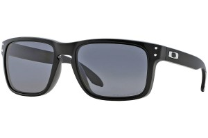 Okulary Oakley Holbrook Polished Black Grey Polarized OO9102-02