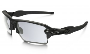 Okulary Oakley Flak 2.0 XL Polished Black Clear Black Iridium Photochromic OO9188-50