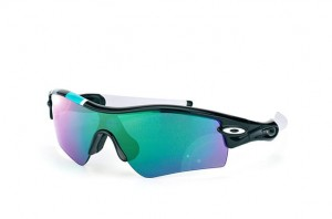 Okulary Oakley Radar Path 30 Years Collection Polished Black/Jade Iridium 26-268