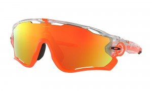 Okulary Oakley Jawbreaker Crystal Pop Clear Fire Iridium OO9290-37