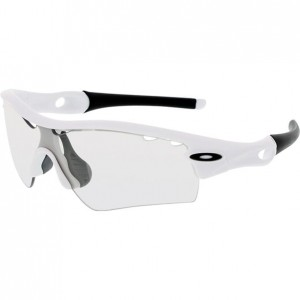 Okulary Oakley Radar Path Vented Matte White/Clear Black Iridium Photochromic OO9051-05