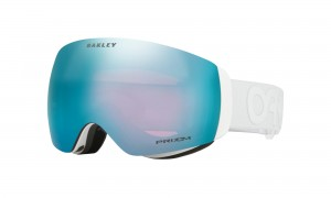 Gogle Oakley Flight Deck XM Factory Pilot Whiteout Prizm Sapphire Iridium OO7064-60