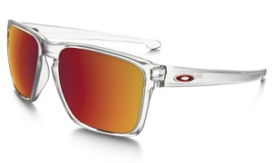 Okulary Oakley Sliver XL Matte Clear Torch Iridium OO9341-09