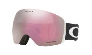 Gogle Oakley Flight Deck Matte Black Prizm HI Pink Iridium OO7050-34