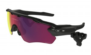 Okulary Oakley Radar Pace Polished Black/Prizm Road + Clear OO9333-0137