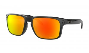 Okulary Oakley Holbrook Polished Black Prizm Ruby Polarized OO9102-F1