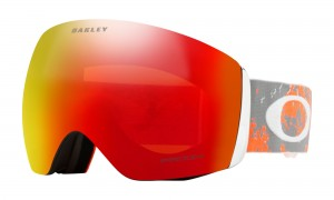 Gogle Oakley Flight Deck Arctic Fracture Sharkskin Orange Prizm Snow Torch OO7050-62