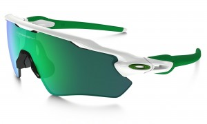 Okulary Oakley Radar EV Path Polished White/Jade Iridium OO9208-4838