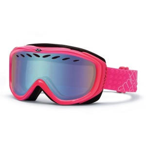 Gogle Smith TRANSIT PINK FRAME BLUE SENSOR MIRROR