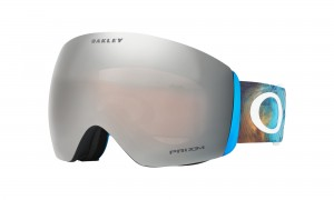 Gogle Oakley Flight Deck Corduroy Dreams Blue Orange Prizm Black Snow Iridium OO7050-53
